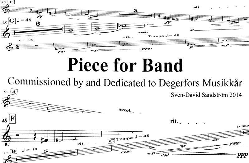 Piece for Band